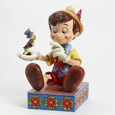 Disney Traditions Jim Shore Pinocchio & Jiminy Cricket 75th Anniversay Figurine