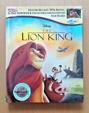 NEW Disney The Lion King Blu-Ray DVD Digital Storybook Target Exclusive Film Cel