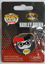 FUNKO POP PINS HARLEY QUINN METAL PIN  /BADGE COLLECTIBLE