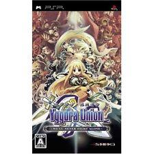 Used PSP Yggdra Union SONY PLAYSTATION JAPAN IMPORT