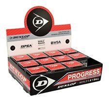 Balles De Squash Dunlop Progress - 1 Douzaine - Progression 12 Boîte