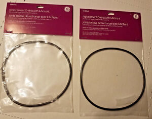 2 HHRING Genuine GE Water Home Filtration Replacement O Ring w/ Lubricant -NEW