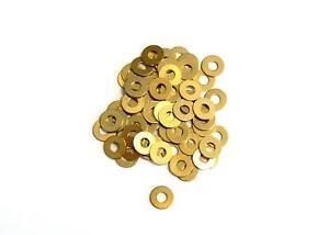 Washers 1,1/1,3/1,5/1,7mm Brass, din 125, Washer