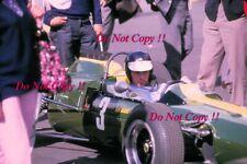 Jim Clark Ron Harris Lotus 35 Karlskoga F2 1965 Photograph 1
