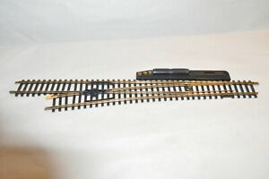HO scale track brass code 100 TYCO switch turnout remote #6 LEFT HAND
