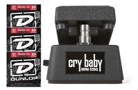 Jim Dunlop Cry Baby Mini 535Q Wah Pedal CBM535Q Half Size ( 3 STRING SETS )