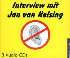 INTERVIEW MIT JAN VAN HELSING - 3 x Audio CD Amadeus Verlag NEU