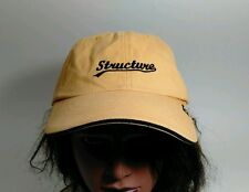 Yellow Hat By Structure Men's Clothing Company Baseball Cap Hat