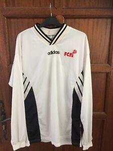 maillot fc martigues porté année 90 match worn no om xl