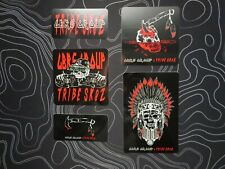 GBRS GROUP x TRIBE SK8Z Stickers Slaps 5-Pack SupDef WRMFZY Forward Observations