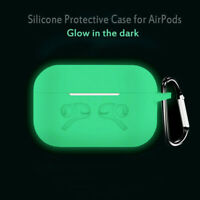 Luminous Case Earphone Protection Cover Key Chain for For Apple Airpods Pro CA