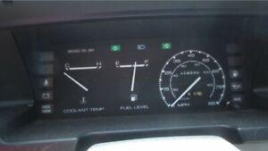 Chevrolet Spectrum, Isuzu I-Mark: 1985, 1986, 1987 - 1989, Speedometer - Cluster