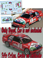 Decal 1:43 Jose Maria Ponce - BMW M3 - Rally Teror 2000
