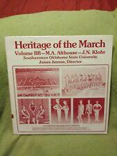Rare Southwestern Oklahoma State University Marching Band LP Near Mint Very Nice
