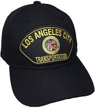 City Of Los Angeles Transportation Hat Color Black Adjustable