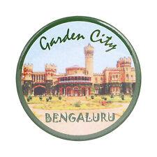 Fridge Magnet Garden City Bengaluru Karnataka India Souvenir Button Pin Badge