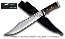 "Genuine Gurkha Kukri knife -11"" GK&CO. Bowie Knife,Kukris,Khukris,Handmade blade"