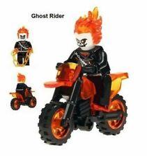 Minifigures compatibili Lego GHOST RIDER COSTRUZIONI MARVEL Moto GHOST
