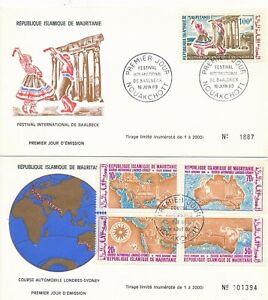 Mauretania - Two covers - FDC -   1969
