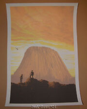 Close Encounters of the Third Kind Mark Englert This is Important Print S/N