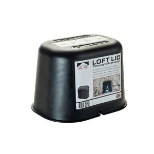 LoftLeg Loft Lid Fire Rated Downlight Protection Cover Hood Cap Loft Attic UK