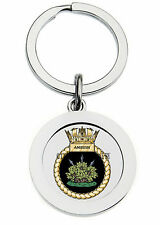 HMS AMBUSH KEY RING (METAL)