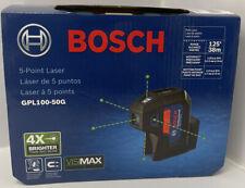 Bosch Gpl100 50g 5 Point Cordless Green Beam Self Leveling Alignment Laser