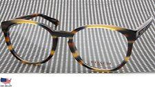 NEW COACH HC 6102 5441 Blue Honey Gltr Varsity Stripe EYEGLASSES 51-18-140 B41mm
