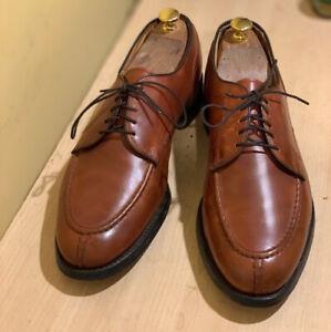 Allen Edmonds Bradley Chili Split Toe Blucher Oxford Shoes 10.5 D