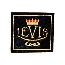 Parche bordado clásico Levis Moto/Vintage, veterano