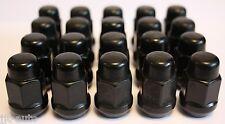 20 x M12 x 1.5 Nero Conico Dadi per Fissaggio Ruote Compatibili con Honda