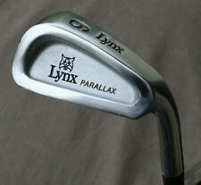 Lynx Parallax  6 Iron Original Regular Steel Shaft