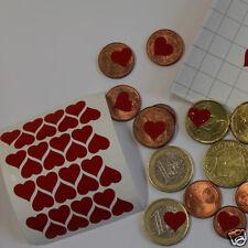 30 Stickers Ptit'coeur 1cm  à coller partout ! 30 petits cœurs adhésifs