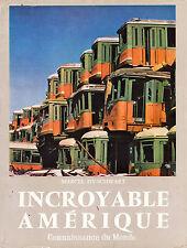 Incroyable Amérique - Marcel Isy Schwart - Eds. SEGET- 1959