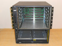 Cisco Catalyst WS-C6506 6506 Switch CHASSIS 6 Slot 12 Rack Unit