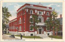 B.P.O. Elks No. 61 in Springfield MA Postcard