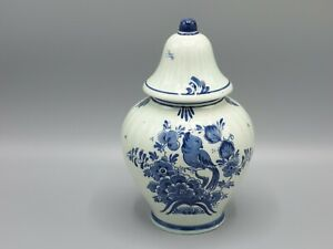 Blauw Delft Ginger Jar Hand-painted
