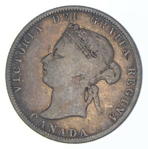 Better Date - 1872 Canada 25 Cents - SILVER *333