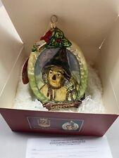 "Kurt Adler Polonaise ""Scarecrow"" Ap 1991 Wizard of Oz Holiday Ornament w/box Tag"