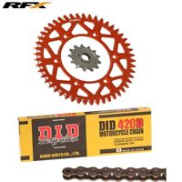 KTM SX 65 2013 2014 2015 DID CHAIN & RFX FRONT & REAR SPROCKET KIT COMBO 14T 48T