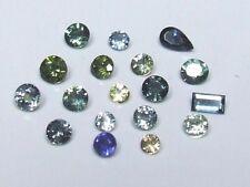 Australian natural sapphire gemstones x 18...2.85 ct total weight