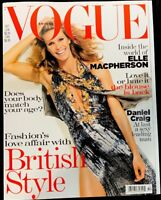 VOGUE BRITISH MAGAZINE - October 2004 - Elle Macpherson - Fashion Magazine