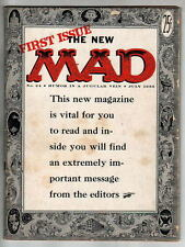 MAD Magazine #24 1st Magazine Issue Kurtzman Cvr art 1st 'What? Me Worry?' 1955