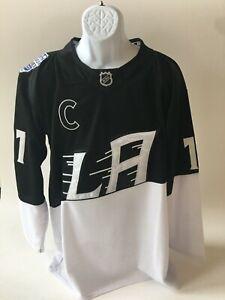Anze Kopitar # 11 Los Angeles Kings 2020 Stadium Series NHL Hockey Jersey - XL
