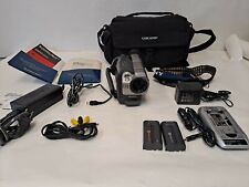 Sony Handycam CCD-TRV37 8mm Camcorder w/ Batts, Chargers, Bag, Manuals EXCELLENT
