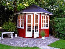 Palmako Gartenpavillon Veronica-4 6,7 m² Ø 289 cm Pavillon Unterstand Laube