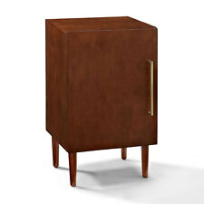 Crosley Mid Century Modern Everett Record Player Turntable Stand Storage Cabinet