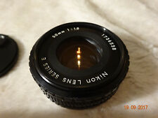Nikon 50mm f1.8 E series very nice condition, full working order clean ref1