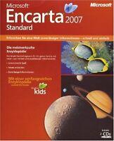 PC Microsoft Encarta 2007 Enzyklopädie Deutsch NEU+OVP