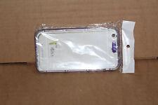"Purple Mobile Phone Case Silicon Soft Plastic Rubber Case - iPhone 6 4."" Screen"